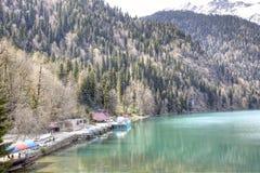 Lake Ritsa Stock Image