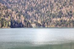 Lake Ritsa Royalty Free Stock Photos
