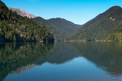 Lake Ritsa stock photography