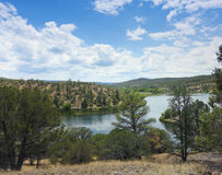 A Lake Roberts View, Gila National Forest Stock Photos