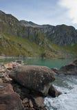 Lake at robiei mountain Royalty Free Stock Image