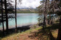 A Lake in the Rockies Stock Photos