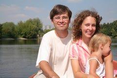 lake rodziny Zdjęcia Stock