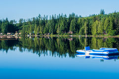 Lake Roesiger Stock Images