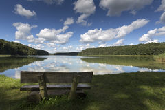 Lake Roofensee in the eastern part of Germany Royalty Free Stock Photography