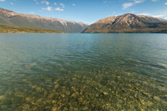 Lake Rotoiti in Nelson Lakes Royalty Free Stock Photo