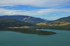 Lake Rotoiti and St Arnaud Stock Image