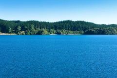 Lake Rotoma stock photo