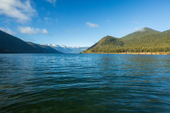 Lake Rotoroa in Nelson National Park Royalty Free Stock Photography
