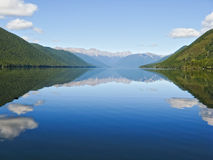 Lake Rotoroa, South Island, New Zealand Stock Images
