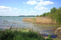 Lake Rozkos in Czech Republic. Stock Image