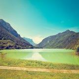 Lake Saalachsee Royalty Free Stock Image