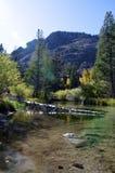 Lake Sabrina outlet Stock Photos