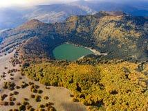 The Lake Saint Ana in Transylvania Romania