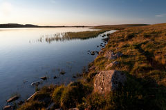 Lake of Saint Andeol in Aubrac, Lozere Stock Photo