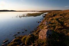 Lake of Saint Andeol in Aubrac, Lozere Stock Photo
