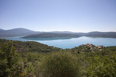 Lake Saint-Croix Stock Photo