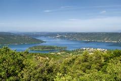Lake of Sainte-Croix (France) Royalty Free Stock Photo