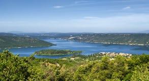 Lake of Sainte-Croix (France) Stock Photo