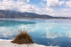 Lake Salda located in southwest of Anatolia Royalty Free Stock Photo