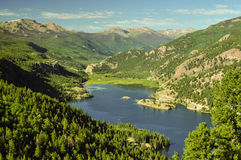 Lake San Cristobal, Colorado Stock Photo