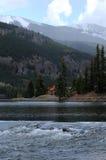 Spring Mountain Lake Stock Image