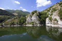 Lake San Domenico, Italy. Stock Photo