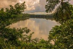 Lake Sandoval, Peru, South America Royalty Free Stock Image