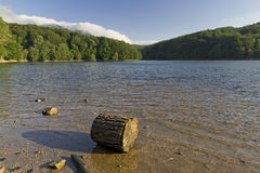 Lake Santa Fe, Montseny. Spain Royalty Free Stock Images