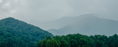 Lake santeetlah in great smoky mountains north carolina Royalty Free Stock Photography