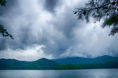 Lake santeetlah in great smoky mountains north carolina Stock Image