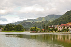 Lake in Sapa, Vietnam Stock Photography