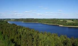 Lake Sartai stock image