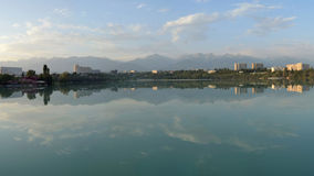 Lake Sayran. Almaty, Kazakhstan. Stock Photo