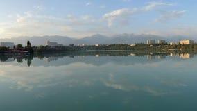 Lake Sayran. Almaty, Kazakhstan. Stock Photo