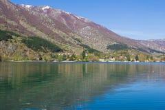 Lake of Scanno Stock Image