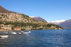 Lake scene, Como, Italy Royalty Free Stock Image
