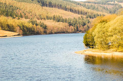 Lake Scene Derwent Valley Royalty Free Stock Photos
