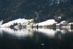 Lake Scene, Switzerland Stock Photos