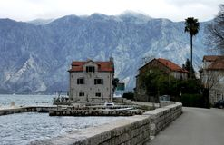 Lake sceneria in Montenegro Royalty Free Stock Photo