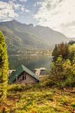 Lake scenery in Canada Stock Photography