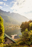 Lake scenery in Canada Stock Photos