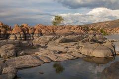 lake sceniska watson Arkivbilder