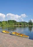Lake Schwarzsee, Kitzbuehel, Österrike Arkivfoto
