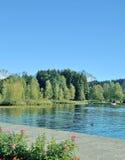 Lake Schwarzsee near Kitzbuehel,Tirol,Austria Stock Photo