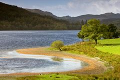 Lake in Scotland Royalty Free Stock Images
