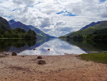 Lake in Scotland nature higlands Royalty Free Stock Photography