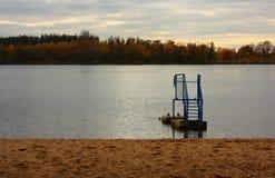 Lake after season Stock Image