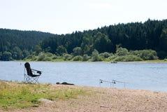 Lake Sec, Czech republic stock photo