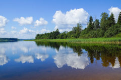 Lake Seliger. Royalty Free Stock Image